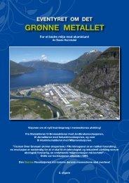 GRØNNE METALLET - Industri Energi