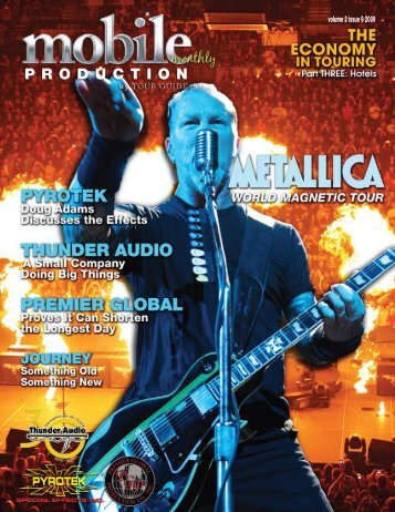 Metallica - World Magnetic Tour - Mobile Production Pro