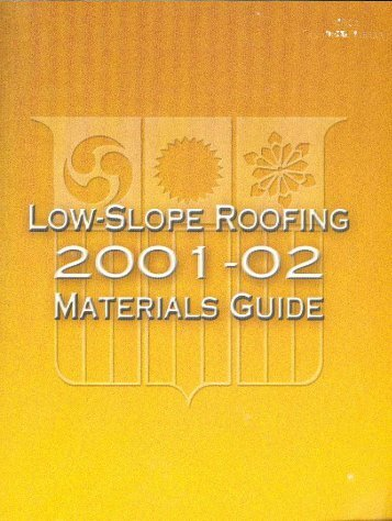 to Roof Coverings - National Roofing Contractors Association