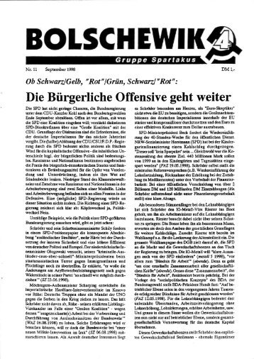 """Rot""/Grün, Schwarz/""Rot"" - International Bolshevik Tendency"