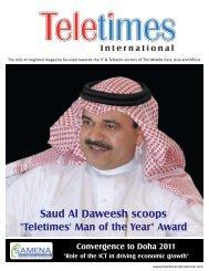 Man Of The Year Award - Teletimes