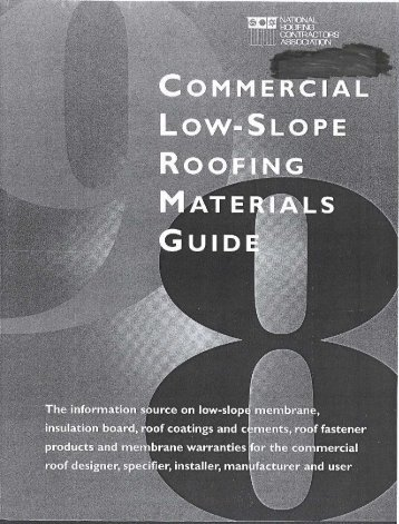commercial low-slope roofing materials guide - National Roofing ...
