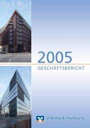 2005 - Volksbank Hamburg (PDF 1,67 MB) - Hamburger Volksbank