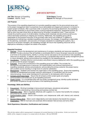 quality engineer job description