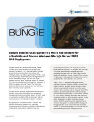 Bungie Studios Uses Sanbolic's Melio File System for a Scalable ...