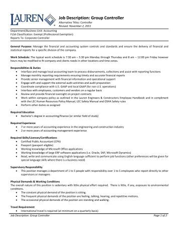 hr generalist job description pdf