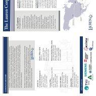Fact Sheet 2010.indd - Lauren Engineers & Constructors