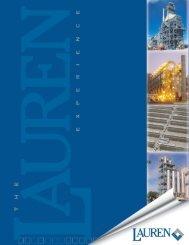 Chemicals Brochure - Lauren Engineers & Constructors