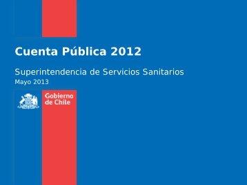 Cuenta Pública 2012 - Siss