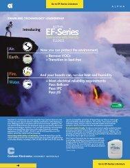 Alpha EF Series Fluxes - The Solder Connection