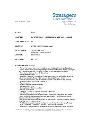 recruitment manager job description pdf