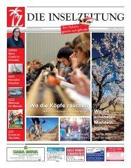 Mallorca - Die Insel im Februar - Bildung, Blüten, Karneval und mehr ...