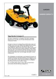 Stiga Garden Compact  E GARDEN - IMA Aschaffenburg
