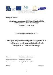 Poptávka firem po dalším vzdělávání v Libereckém kraji - Asociace ...