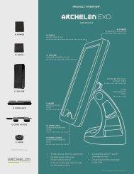 Archelon EXO Data Sheet - Touch Screens Inc.