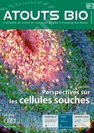 Atouts Bio n°2 - Direction des sciences du vivant - CEA