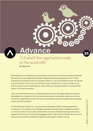 '2.0 what? Are organisations ready for the social ... - Saffron Interactive