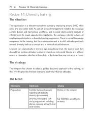 Download a sample blended diversity solution ... - Saffron Interactive