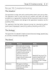 Recipe 18: Compliance training - Saffron Interactive
