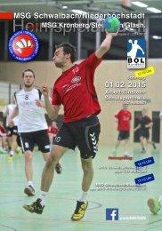 Heimspiel aktuell 6-MSG2015