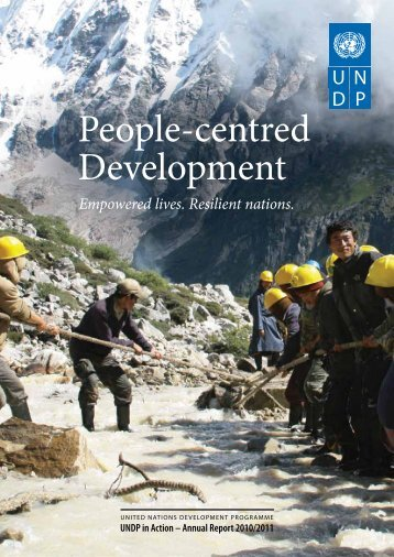 People-centred Development - UNDP Trinidad and Tobago