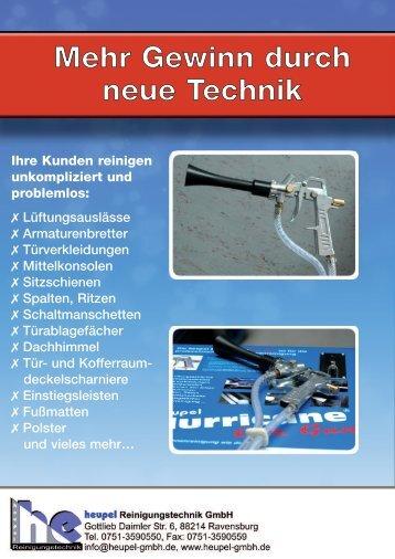 Ihre Kunden reinigen unkompliziert und problemlos: X - Heupel GmbH