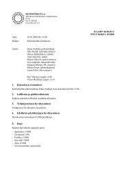 1. Kokouksen avaaminen 2. Laillisuus ja ... - Kemistikilta