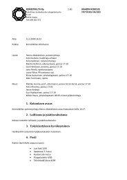 1. Kokouksen avaus 2. Laillisuus ja päätösvaltaisuus 3 ... - Kemistikilta