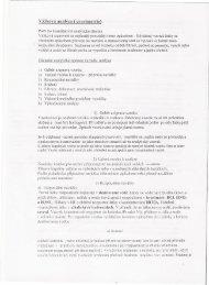 Vážková analýza (gravimetrie) I\avážku vzorku pro rozborprípra ...