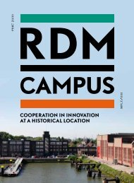 Cooperation in innovation at a historiCal loCation - RDM Campus