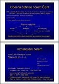 Normy a technická dokumentace - Page 3
