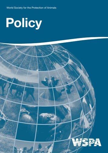 Policy - WSPA