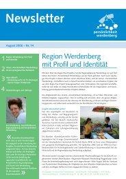 August 2006 - Region Werdenberg