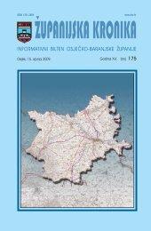 Županijska kronika broj 175 - Osječko baranjska županija