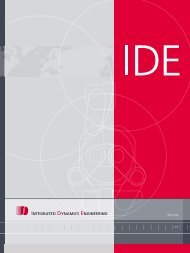 Page 1 IDE profile >> Page 2 1993 IDE opens first US office in ...