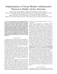 Implementation of Group Member Authentication Protocol in Mobile ...