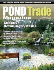 Download the January/February 2010 PDF - Pond Trade Magazine
