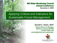 Applying Criteria and Indicators for Sustainable Forest Management ...