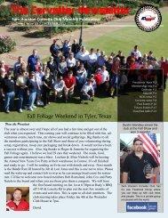 December Corvetter - Sam Houston Corvette Club