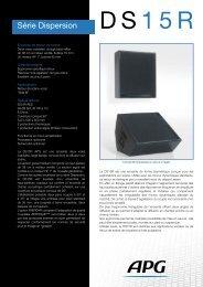 Télécharger la fiche produit DS15R - APG