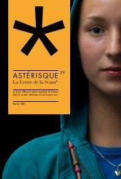 Astérisque, Lettre n°39 - Scam