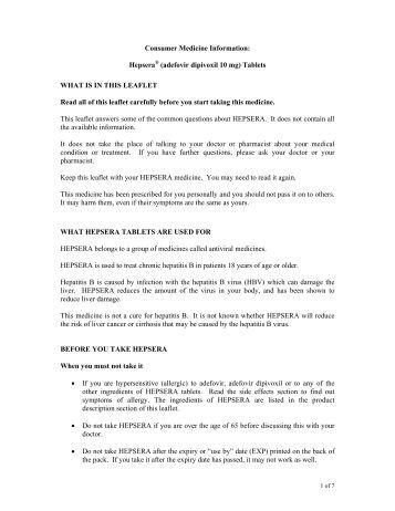 Micardis Consumer Medicine Information