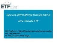 Barriers of Lifelong Learning and Their Removal