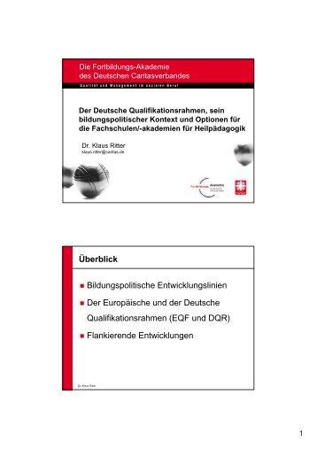 Dr. Klaus Ritter - STK Heilpädagogik