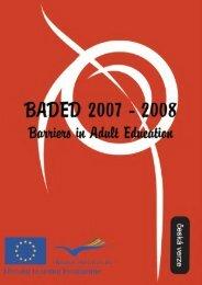 BADED – Bariéry ve vzdělávání dospělých - Národní vzdělávací fond