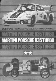 Tamiya Martini Porsche 935T Manual - Wheelsacademy.info