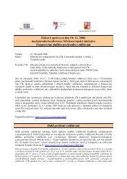mezinárodní konference Středoevropské iniciativy Financování ...