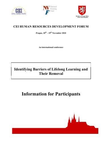 Participants' info