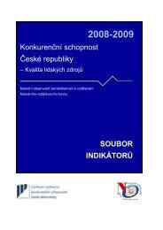 Statistická část – kapitola Kvalitla lidských zdrojů - Národní ...