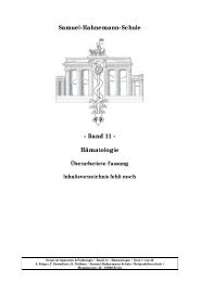 PDF-Band-11-Hämatologie - Samuel-Hahnemann-Schule